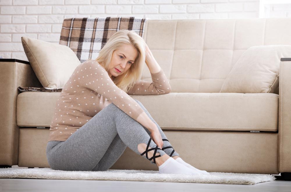 menopausal woman with mood swings